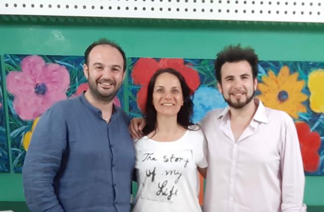 ...con i Maestri Fabio e Ivan LAZZARA
