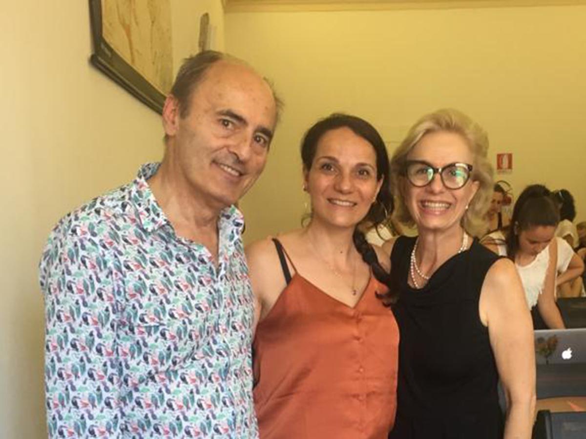 ...con il Prof. Franco Fussi e la Dott.ssa Mara Behlau